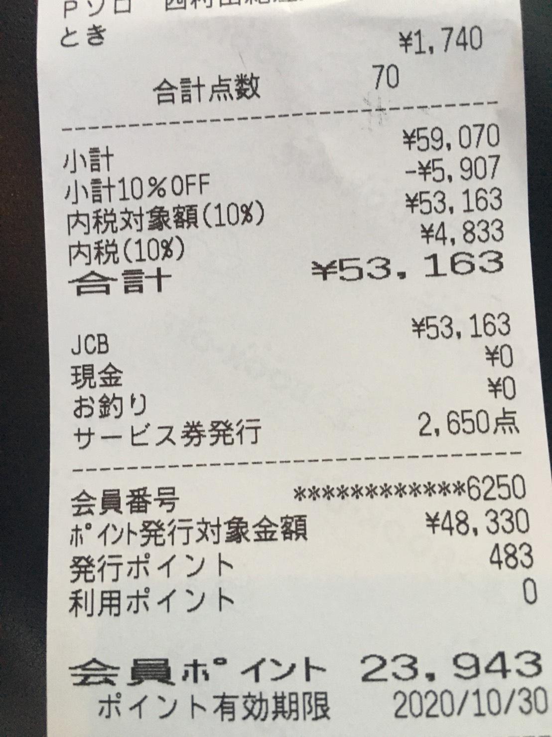 1店舗で5万円オーバーの仕入れ♪